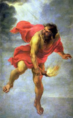 The Light-bringer Prometheus