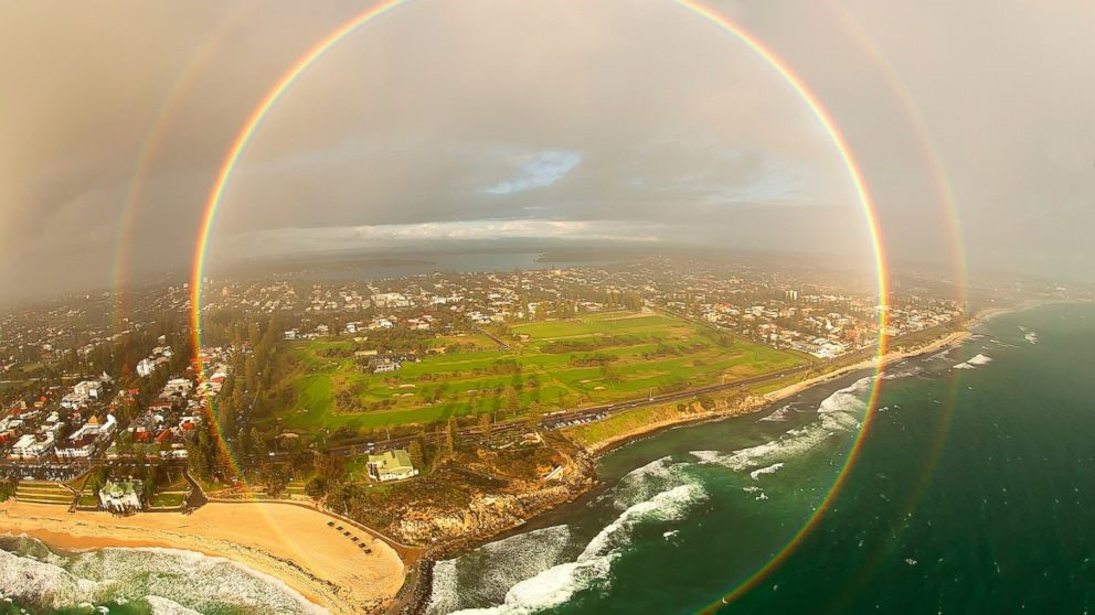 Imprisoned in a Rainbow Circle